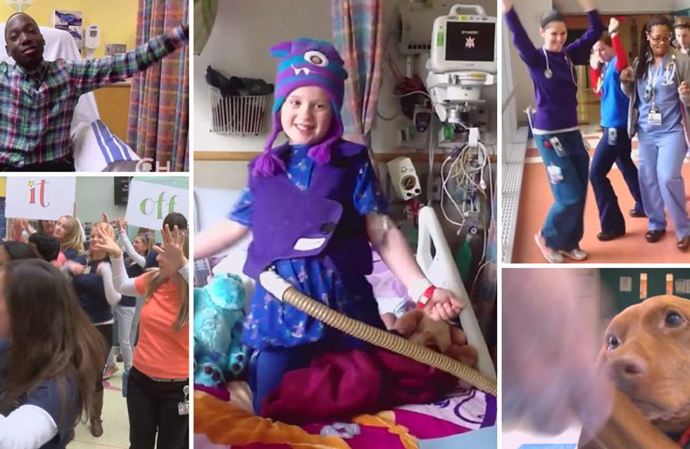 Diese kleinen Patienten haben noch immer Grund zur Freude - dank ihrer Ärzte und Schwestern