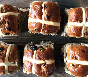 25 Insanely Indulgent Hot Cross Bun Recipes