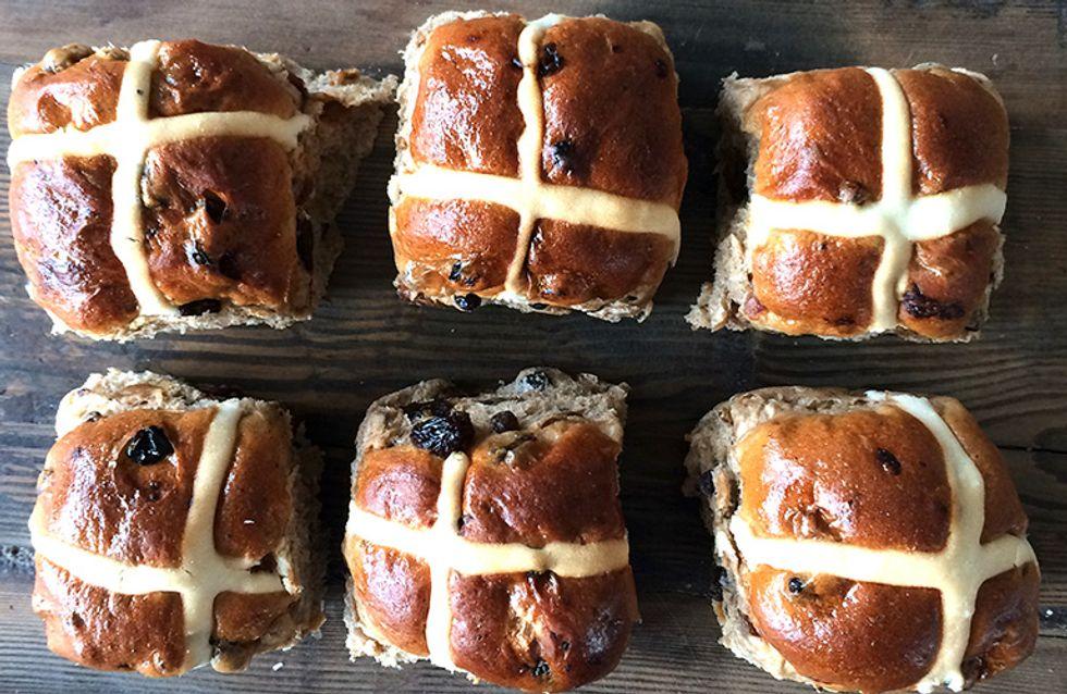 25 Insanely Indulgent Hot Cross Bun Recipes