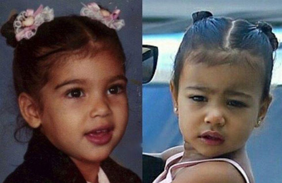 Kim Kardashian et North West se ressemblent comme deux gouttes d'eau