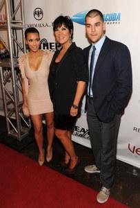 Kim Kardashian, Kris Jenner, Rob Kardashian