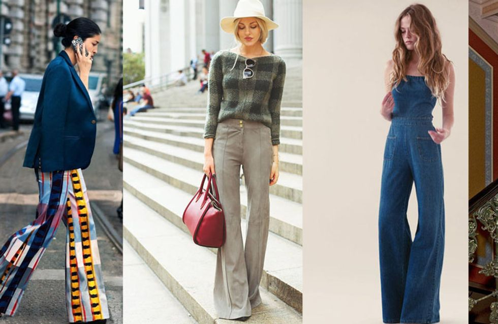 Quelles chaussures porter avec un jean patte d'eph ?