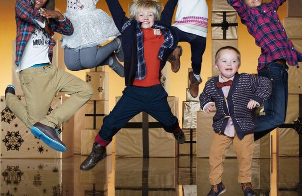 A 7 ans, ce petit garçon trisomique est mannequin pour Marks & Spencer