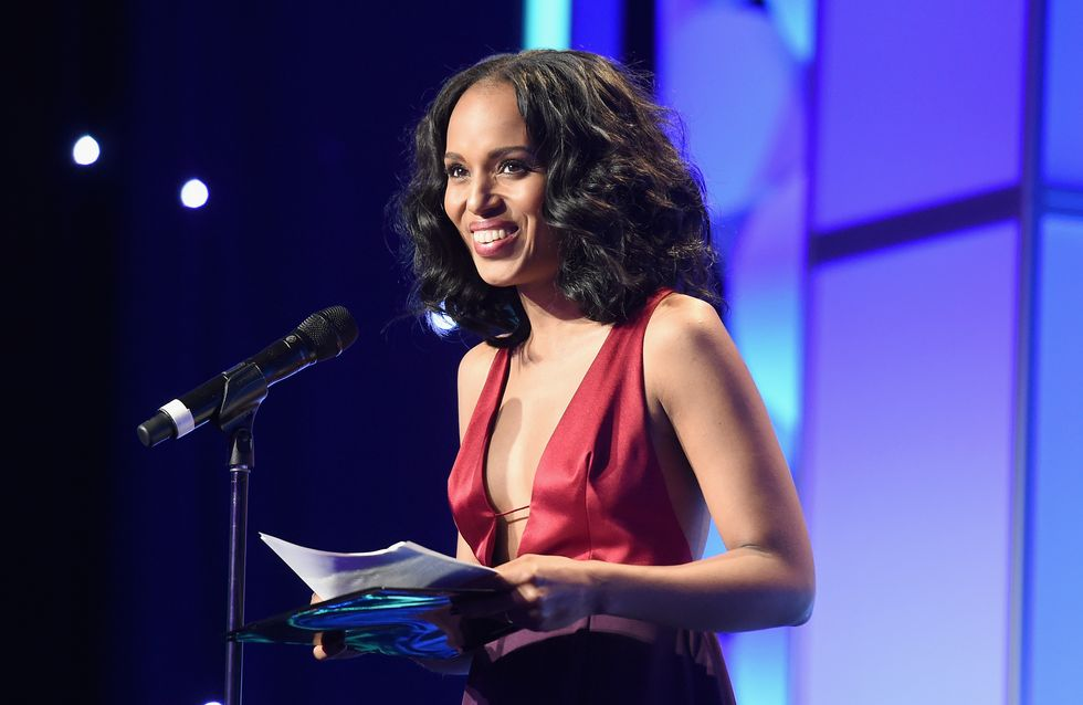 Kerry Washington donne un discours pour les droits LGBT aux GLAAD Media Awards