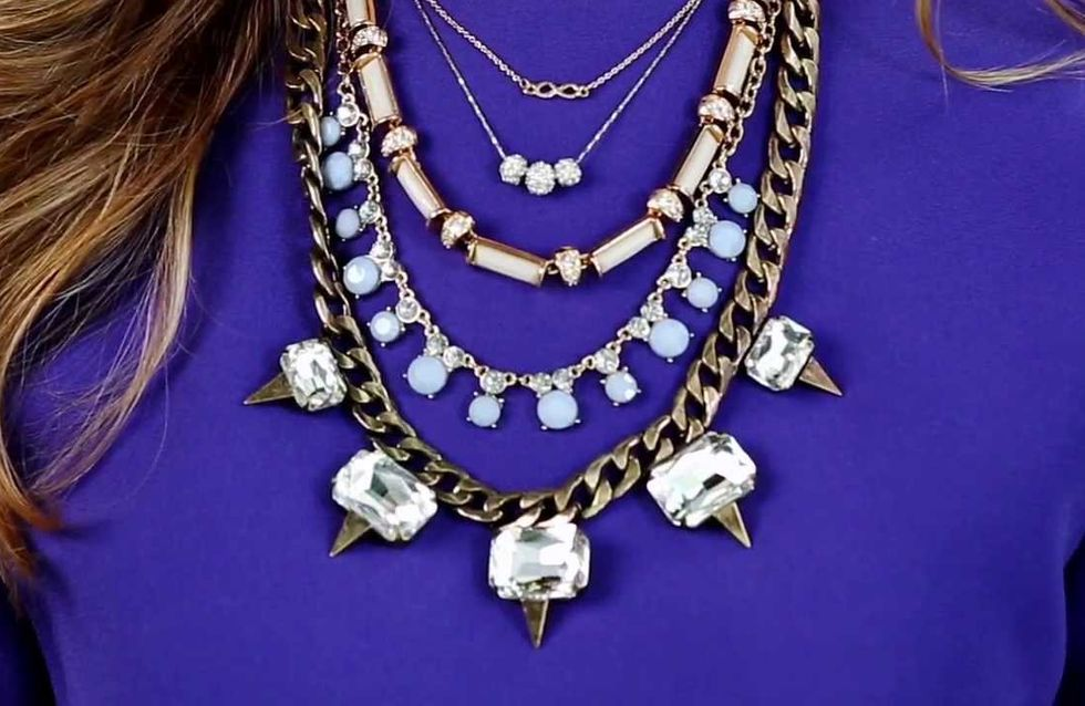 50 Ideas For Beautifully Layered Necklaces