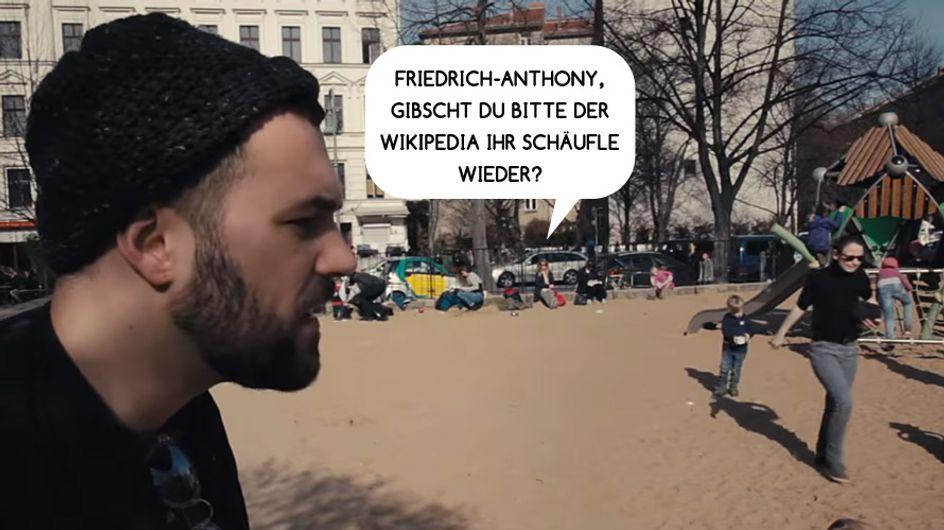 An alle Schwaben & Berliner: Dieses Video ist zum Wegschmeißen!