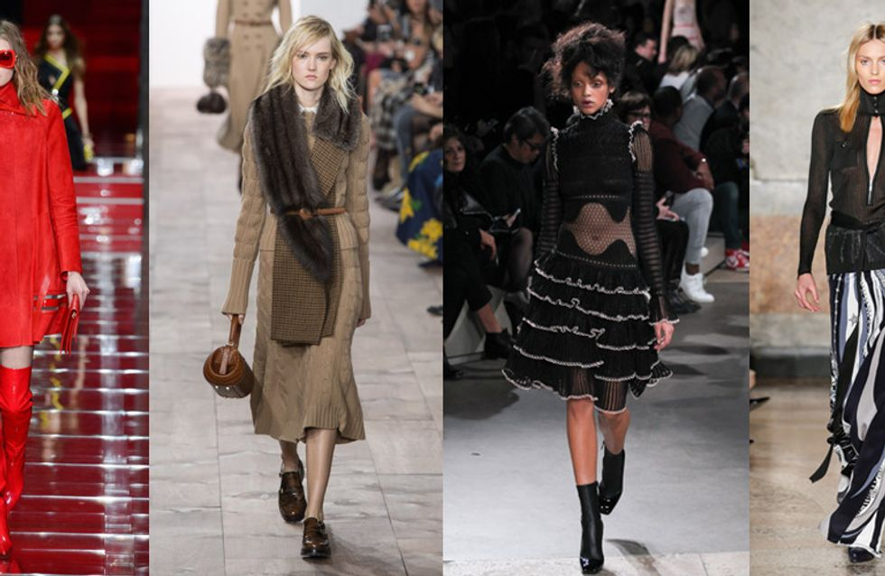10 Trends Every Woman Should Know Before Getting Dressed For Autumn/Winter 2015
