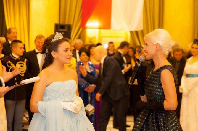 Carla Gozzi insieme alla vincitrice Anna