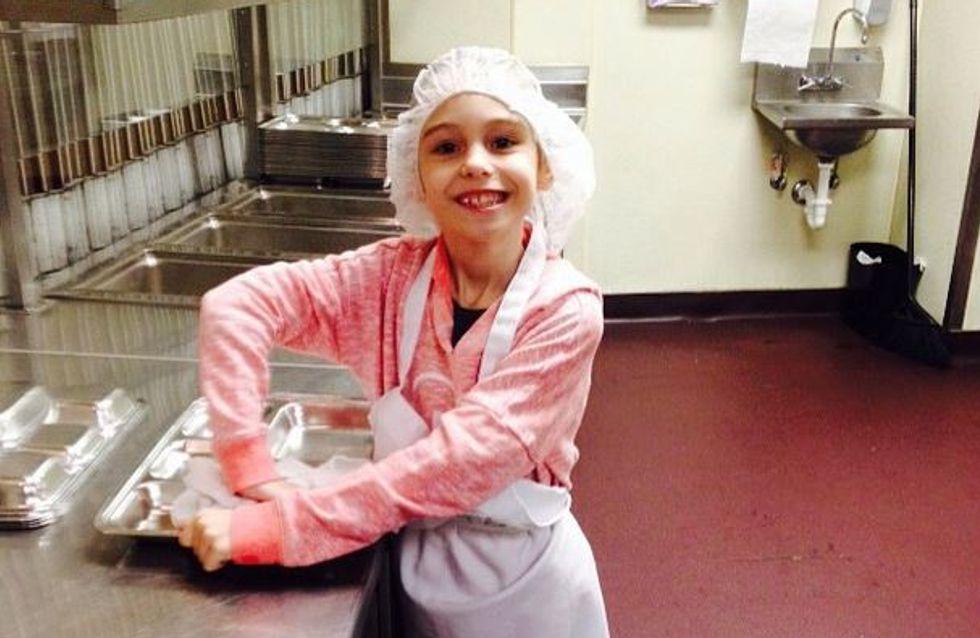 Em homenagem à avó, uma menina decide fazer 600 boas ações