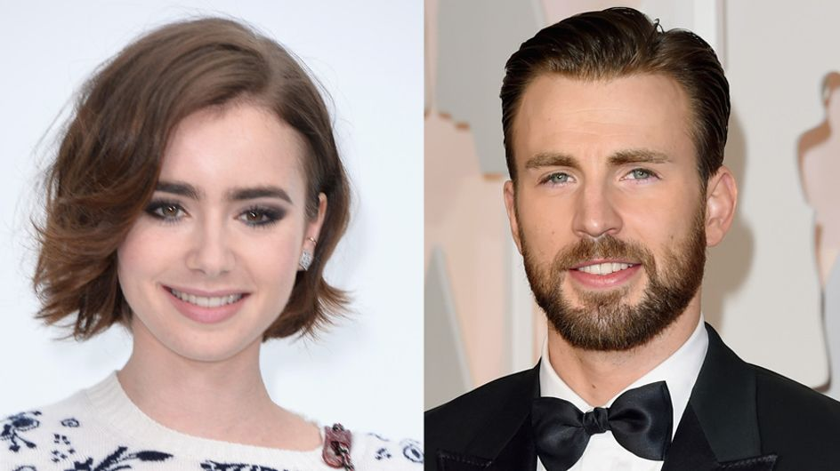 Lily Collins et Chris Evans en couple ?