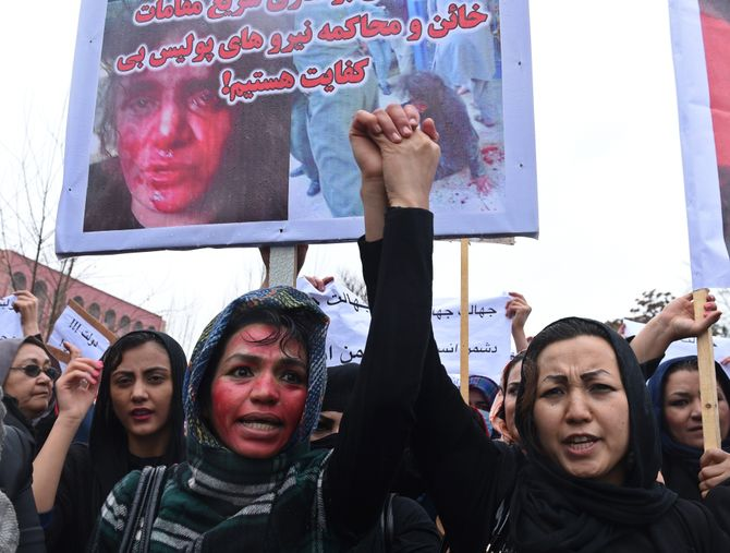 Manifestation à Kaboul