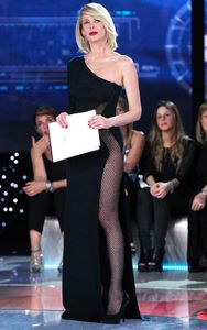 Alessia Marcuzzi con il nude look
