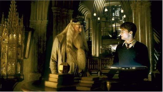 Dumbledore et Harry Potter