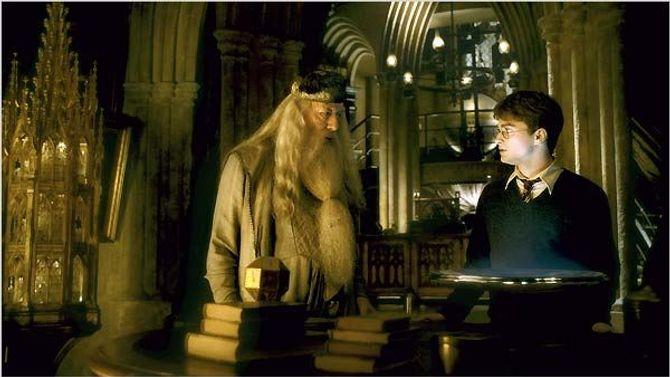 Dumbledore et Harry Potter