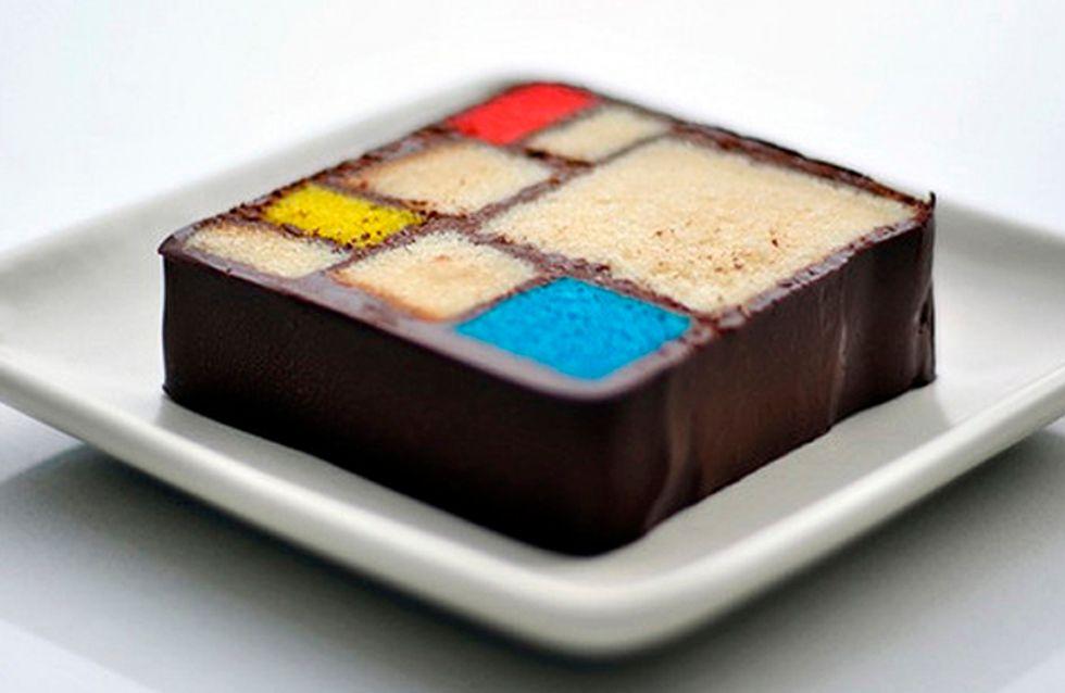 Chef transforma obras de arte moderna em sobremesas e o resultado é sensacional
