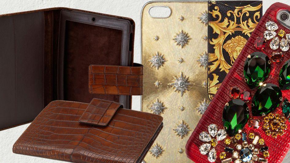 Proteção grifada: capas para iPhone e iPad que são puro luxo