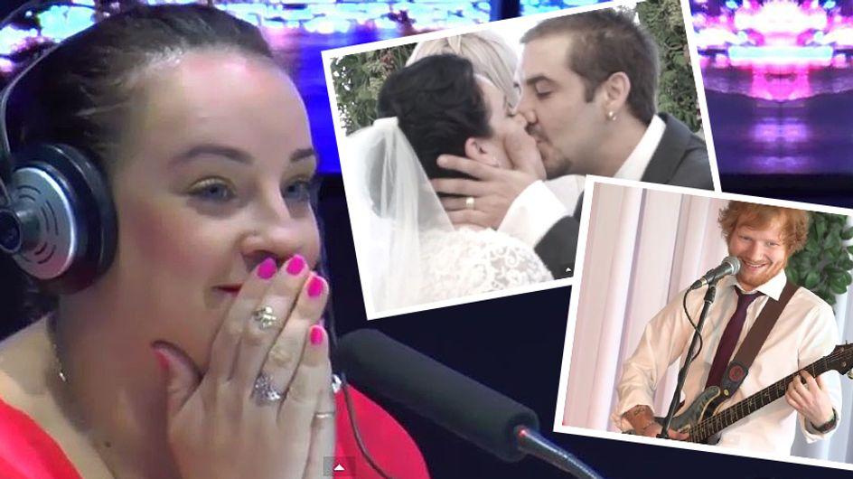 Nach einem schweren Schicksalsschlag erhält diese Braut eine Überraschung, die zu Tränen rührt
