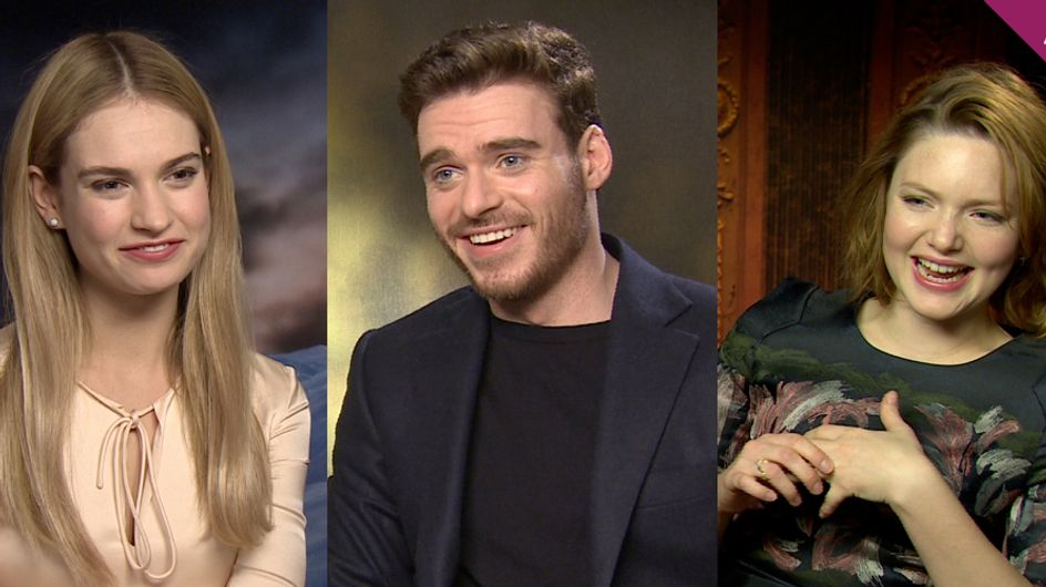15 Things We Learnt From Talking To The Cast Of Cinderella