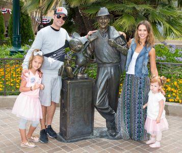 Jessica Alba en famille.