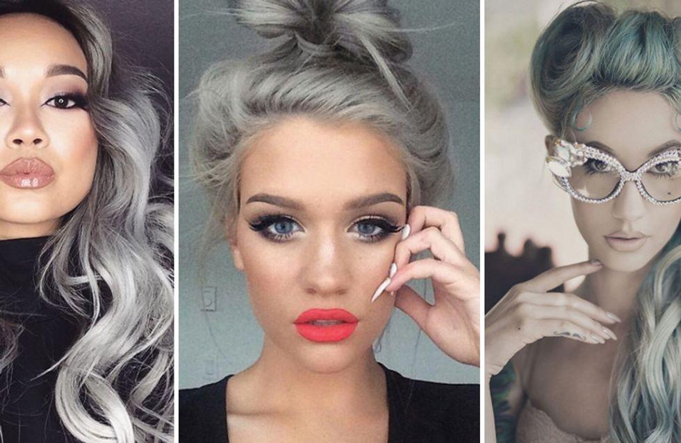 Granny is the new black! Scopri il nuovo trend dei capelli grigi