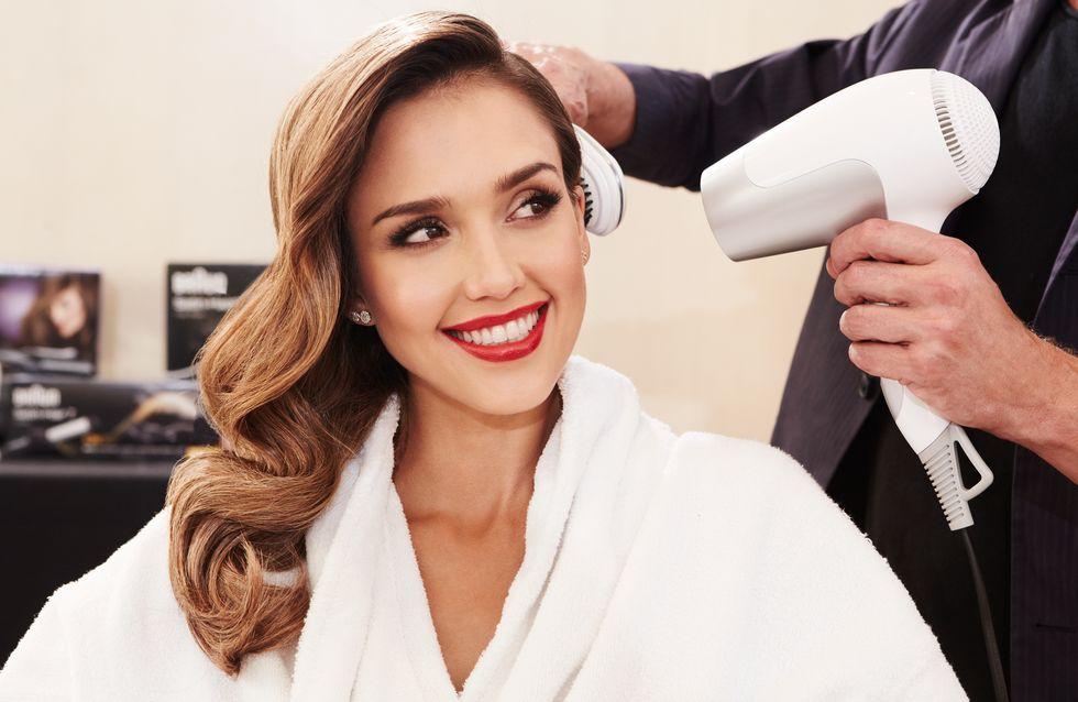 Tuto : Et si on reproduisait les deux plus belles coiffures de Jessica Alba ?