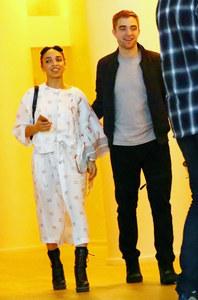 FKA Twigs et Robert Pattinson.