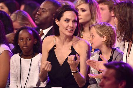 Angelina Jolie, Zahara et Shiloh