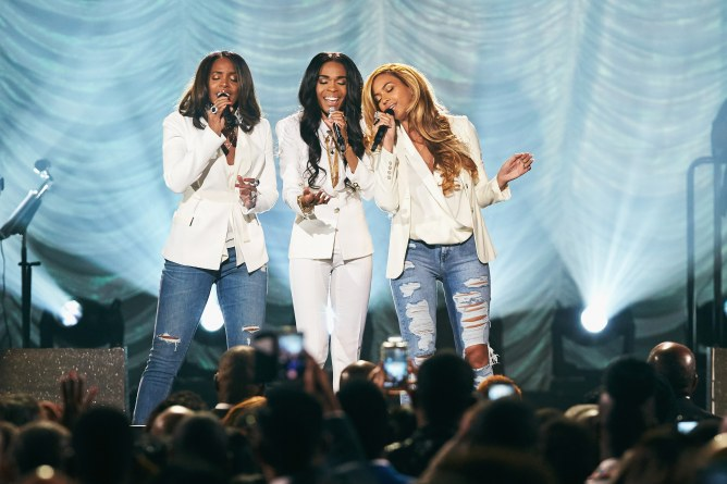 Les Destiny's Child reprenant Say Yes aux Stellar Awards