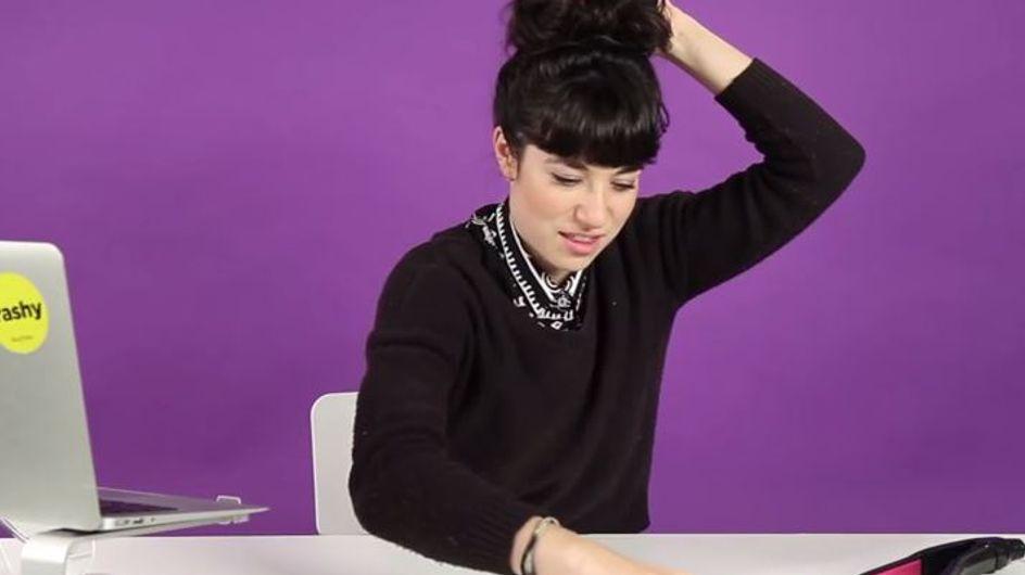 Réaliser les tutos coiffure de Pinterest n'est pas toujours facile (Vidéo)