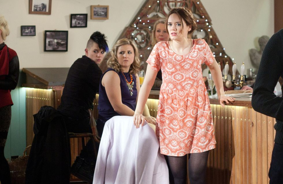 Hollyoaks 08/04 - A double booking at The Dog brings two sets of sworn enemies face to face