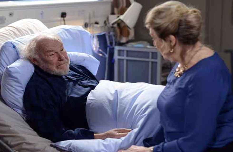 Eastenders 07/04 - Mick and Buster come to blows