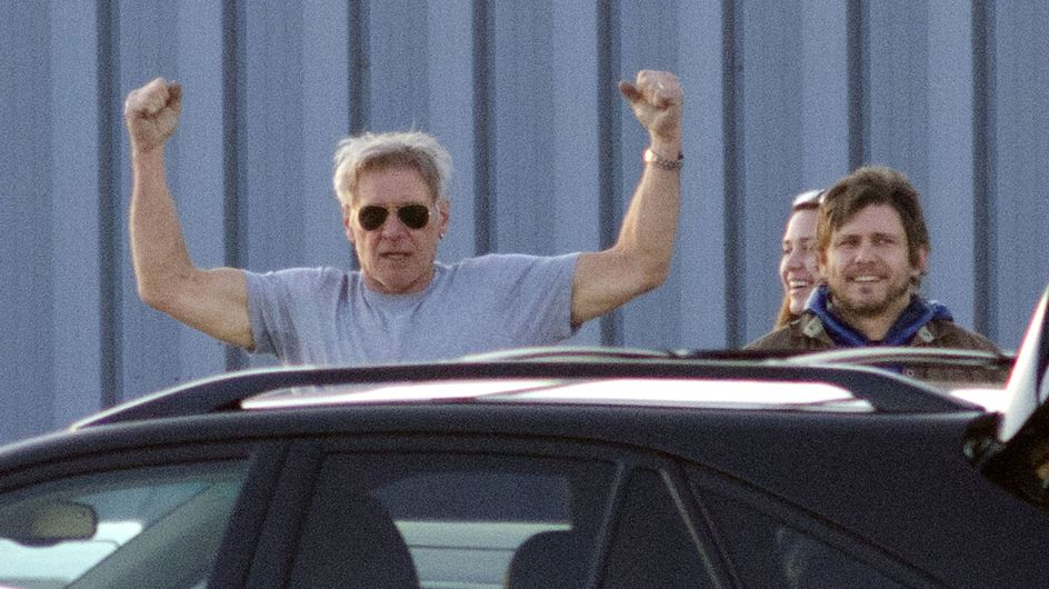 Harrison Ford recibe el alta hospitalaria tras su accidente de avioneta