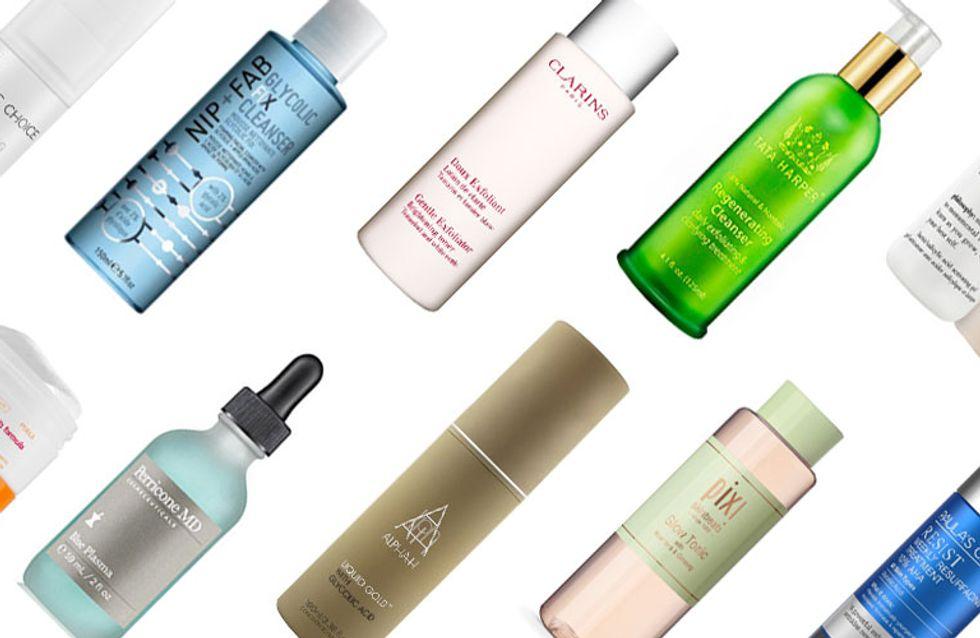 From Skin-smoothing Glycolic Acid To Acne-busting Salicylic Acid: 10 Of The Best Acid Exfoliators