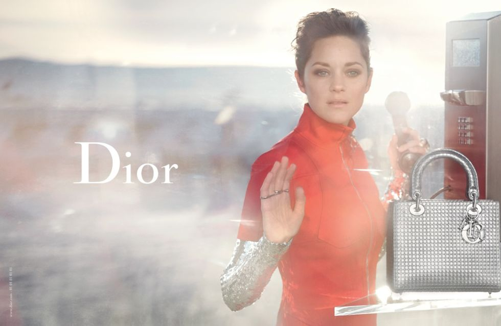 Marion Cotillard star de la nouvelle campagne Dior (Photos)