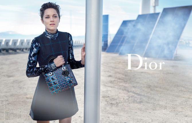 Marion Cotillard x Dior