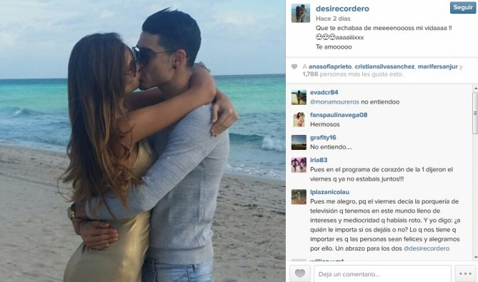 Desiré Cordero y Álvaro Ruiz