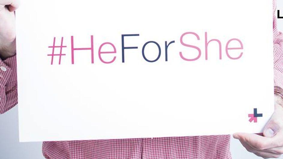 Des célébrités masculines françaises se mobilisent pour la campagne féministe HeForShe