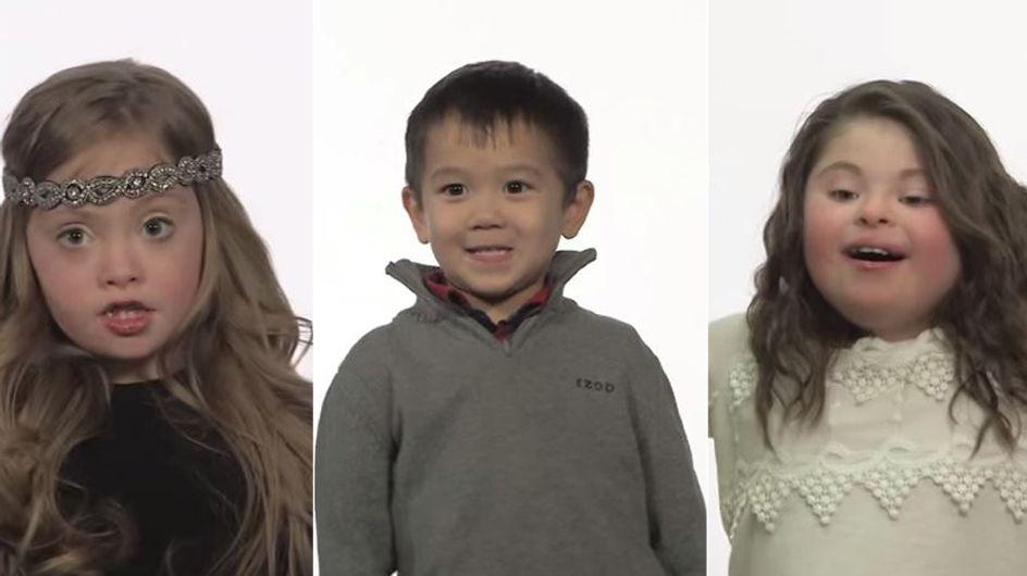 Sie interviewen Kinder mit und ohne Trisomie 21: Das Ergebnis ist beeindruckend