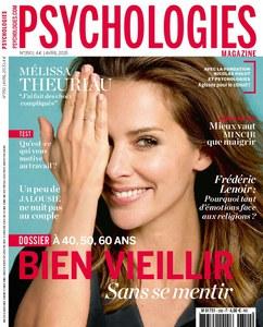 Mélissa Theuriau en couverture de Psychologies Magazine