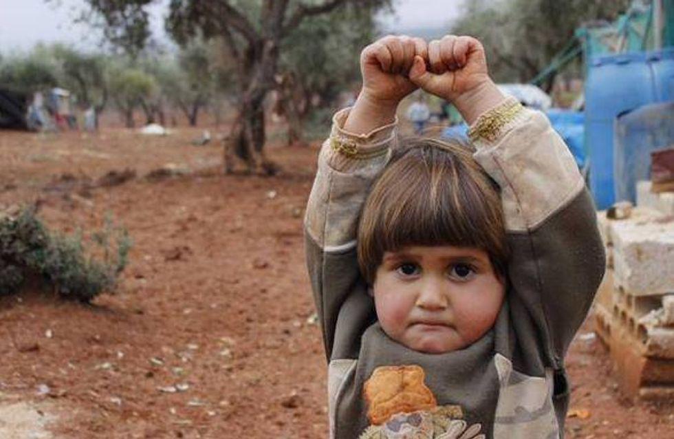 La photo de la petite Syrienne qui a ému le Web