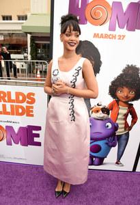 Rihanna à la première de Home