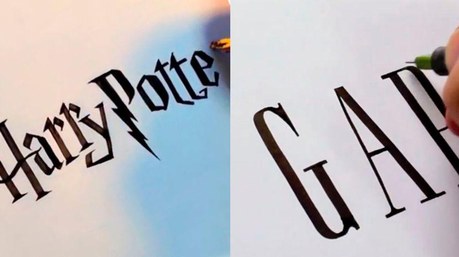 Se você acha que tem letra bonita, nunca viu os vídeos desse designer
