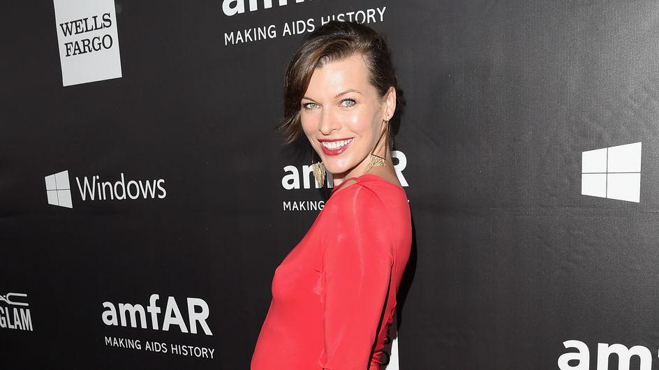Milla Jovovich, une future maman qui s'impatiente