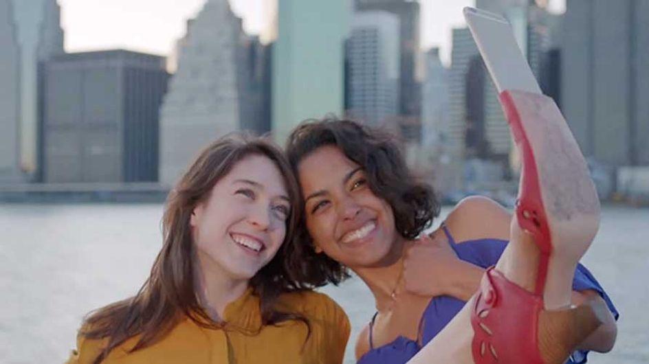 El zapato que revolucionará tus selfies