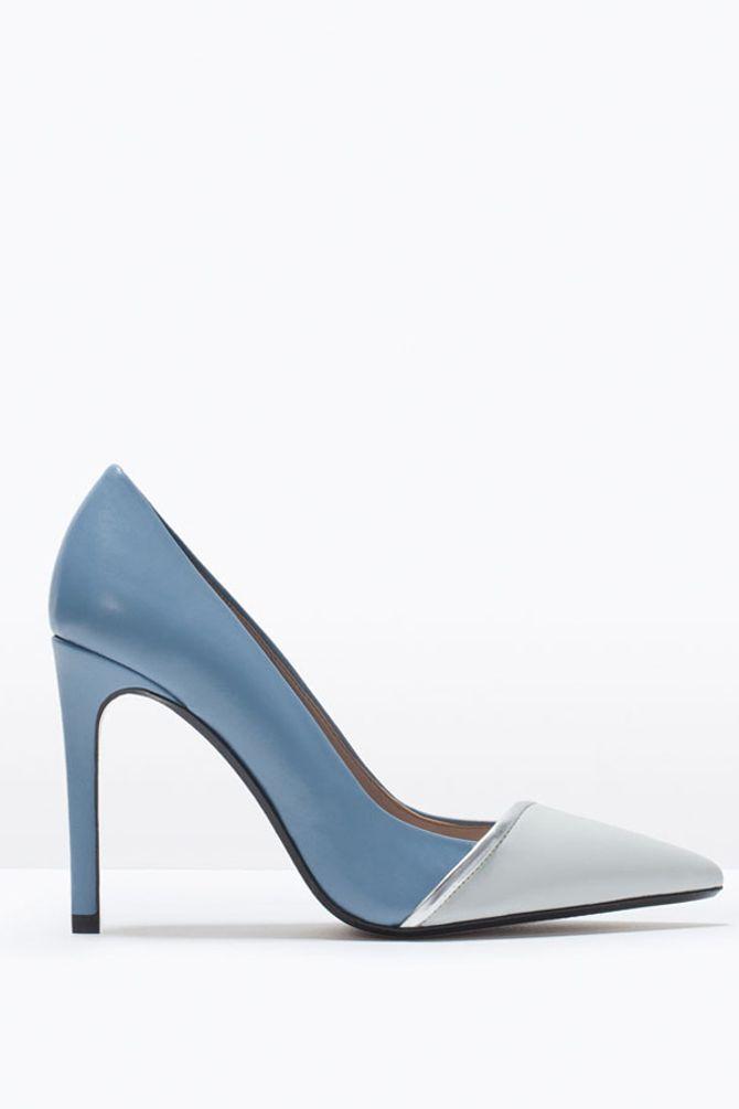 Elegante Schuhe zu Schlaghosen: klassische Pumps