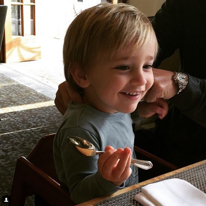Duke, le fils de Giuliana Rancic
