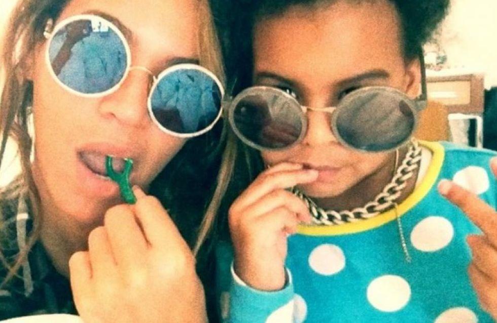 Beyoncé et Blue Ivy vous expliquent comment prendre soin de vos dents (Vidéo)