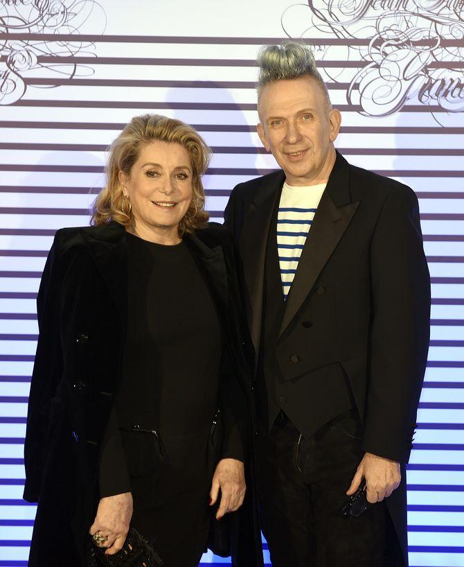 Catherine Deneuve et Jean Paul Gaultier