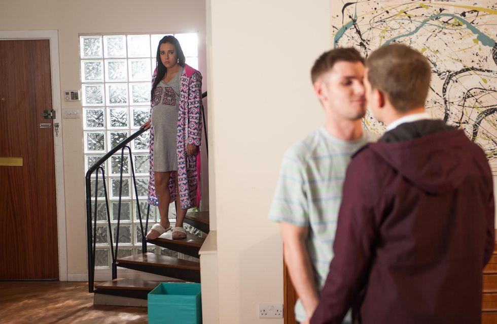 Hollyoaks 13/04 - Buried secrets threaten to resurface for Porsche