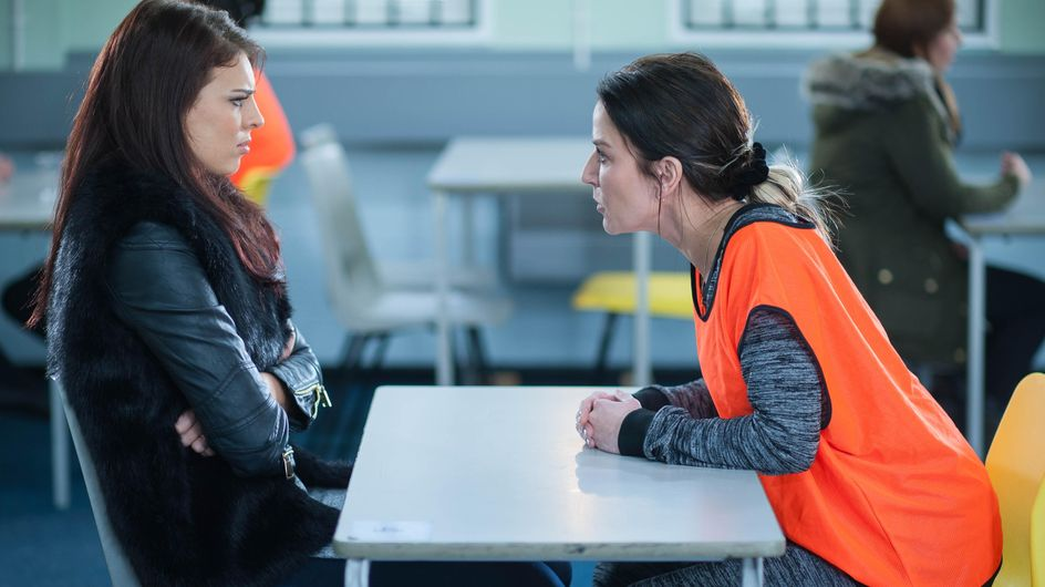 Hollyoaks 16/04 - An unwelcome face tells Porsche they plan to stick around